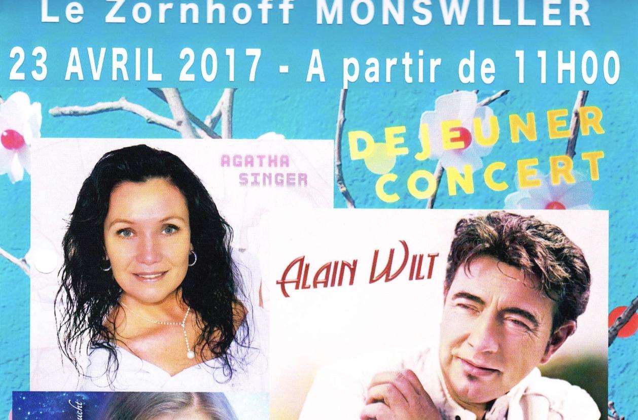 Déjeuner-concert à Monswiller le 23 avril 2017