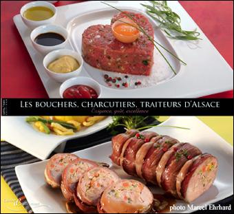 Livre de recettes bouchères d'Alsace