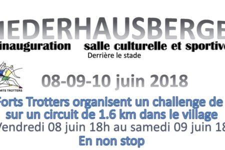 Challenge sportif à Niederhausbergen les 8 et 9 juin