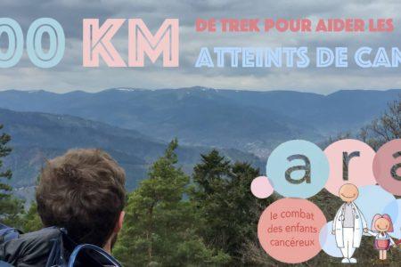 1200 km de trek pour aider les enfants atteints de cancers