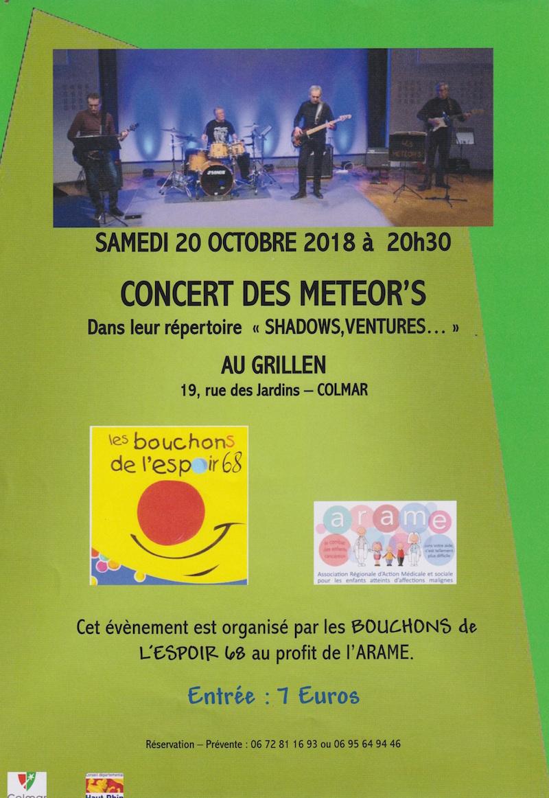 Concert des METEOR'S