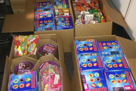 Des bonbons pour les enfants !