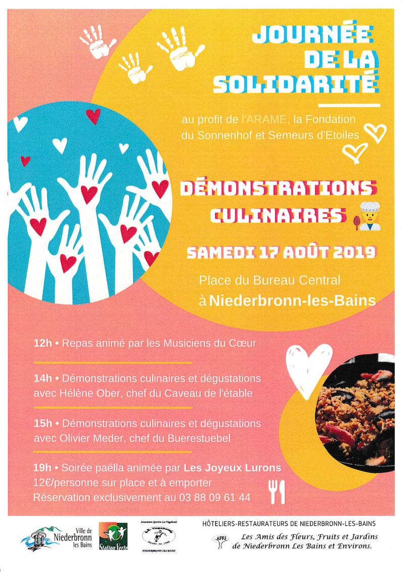 Journée de solidarité à Niederbronn-les-Bains