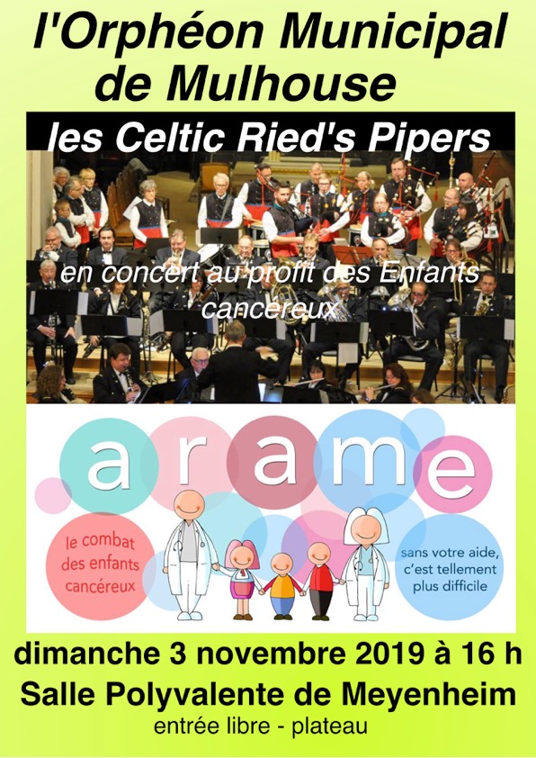 Concert des Celtic Ried's Pipers