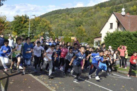 Cross et solidarité au collège du Hugstein à Buhl