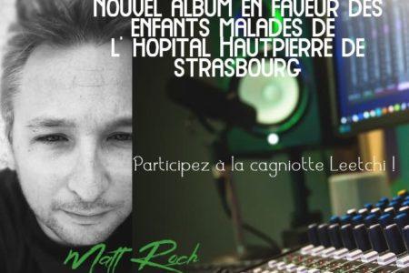 Nouvel album de Matt Roch pour soutenir l'ARAME
