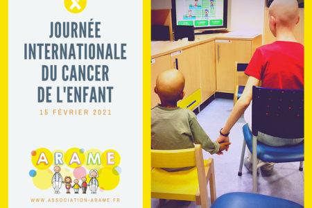 15 février 2021 : journée internationale du cancer de l'enfant