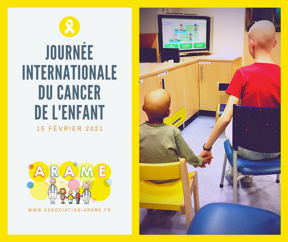 Association ARAME - journée internationale du cancer pédiatrique