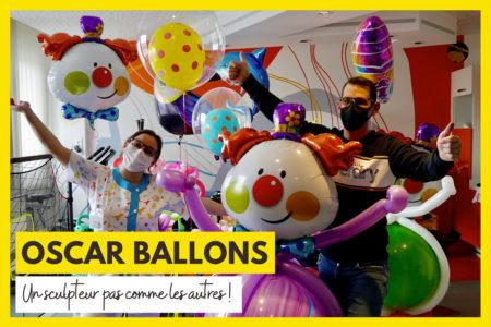 Oscar Ballons : un sculpteur pas comme les autres au service d'onco-hémato pédiatrique