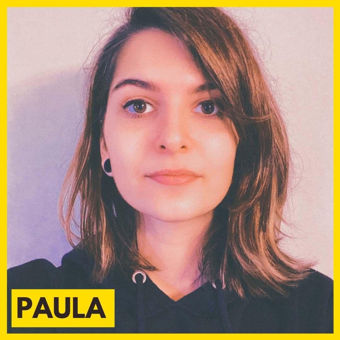 Paula est l'une des bénévoles de l'association ARAME