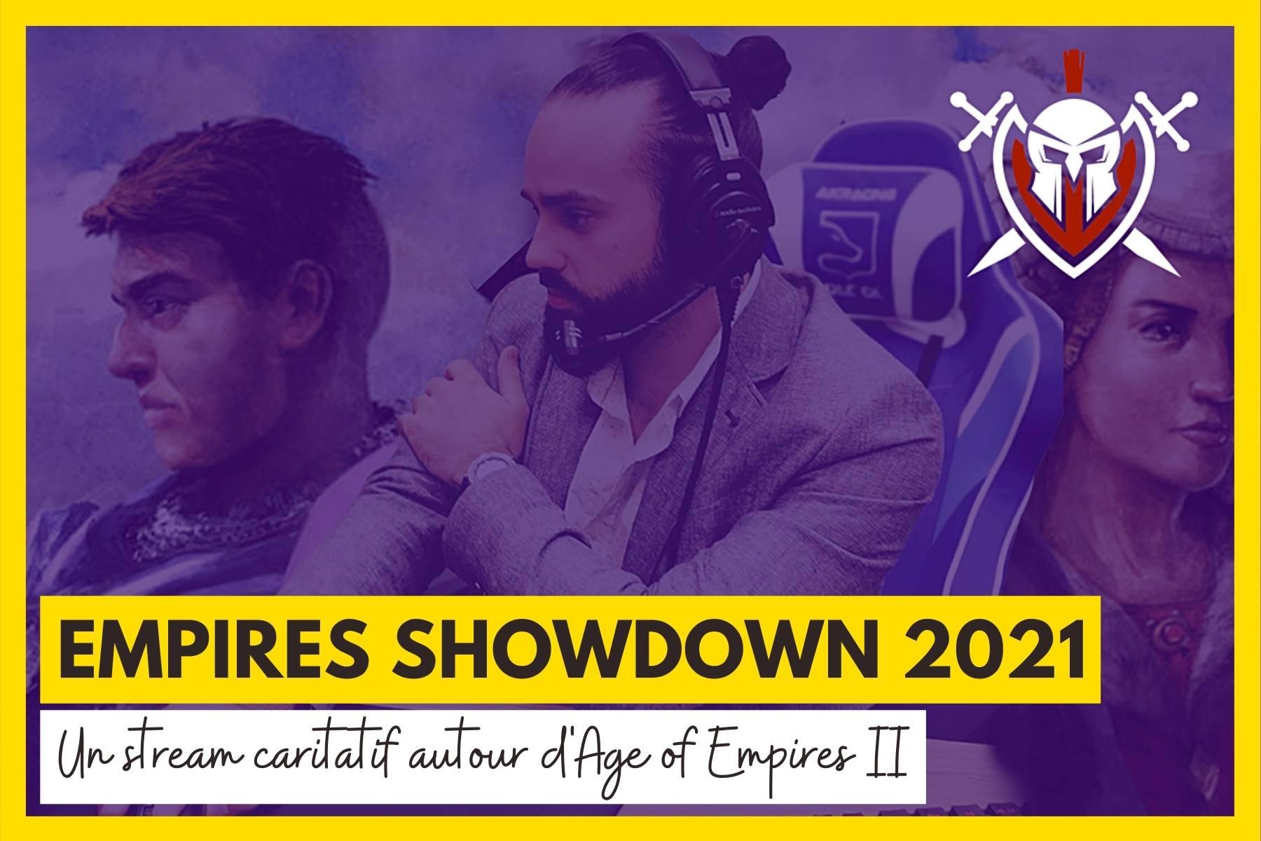 Le streamer OGN Empires organise un live sur Twitch pour l'ARAME