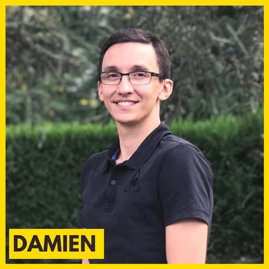 Damien Furst est le responsable de l'association ARAME