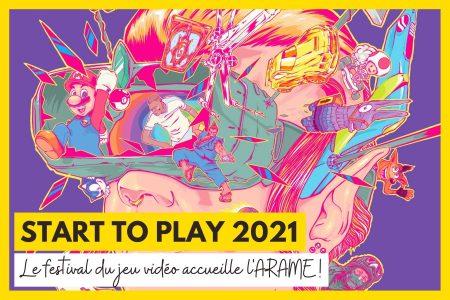 L'ARAME sera présente au festival Start to Play 2021