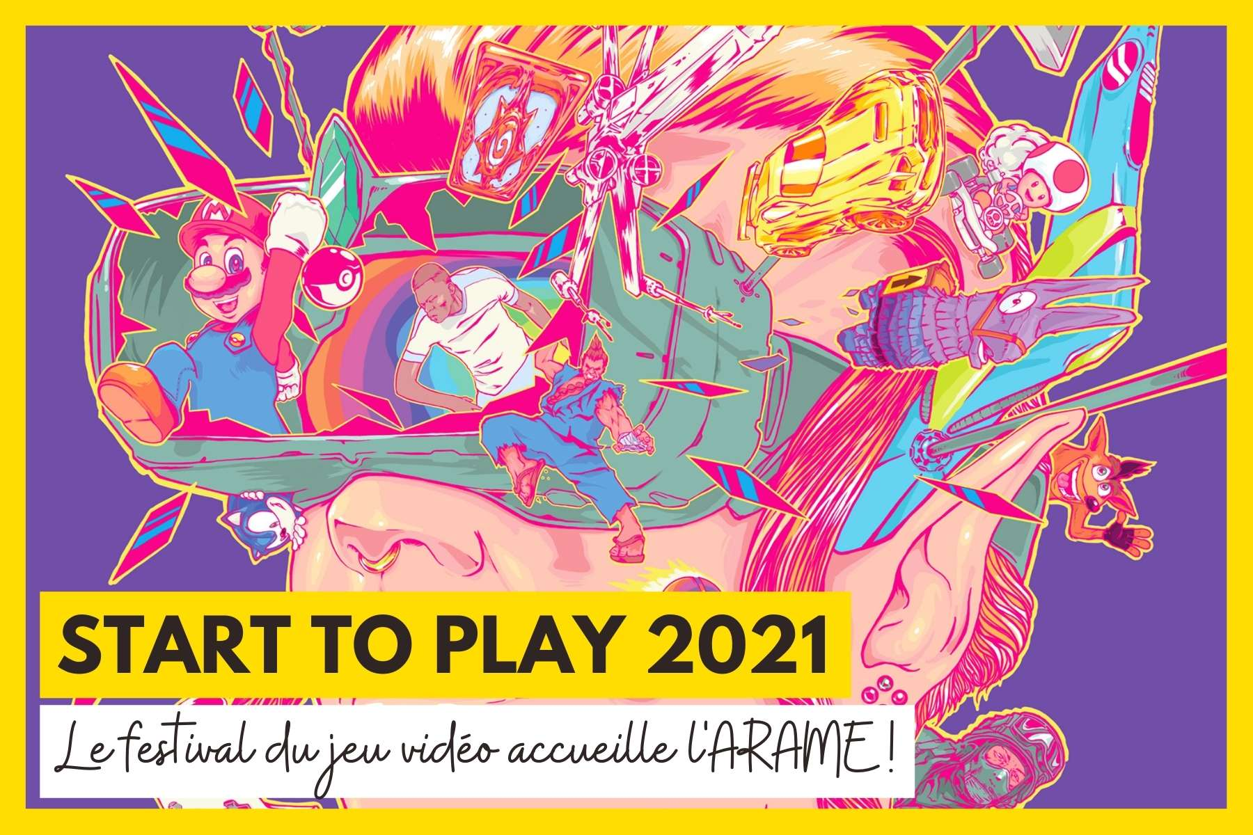 Le festival du jeu vidéo à Strasbourg accueille l'association ARAME