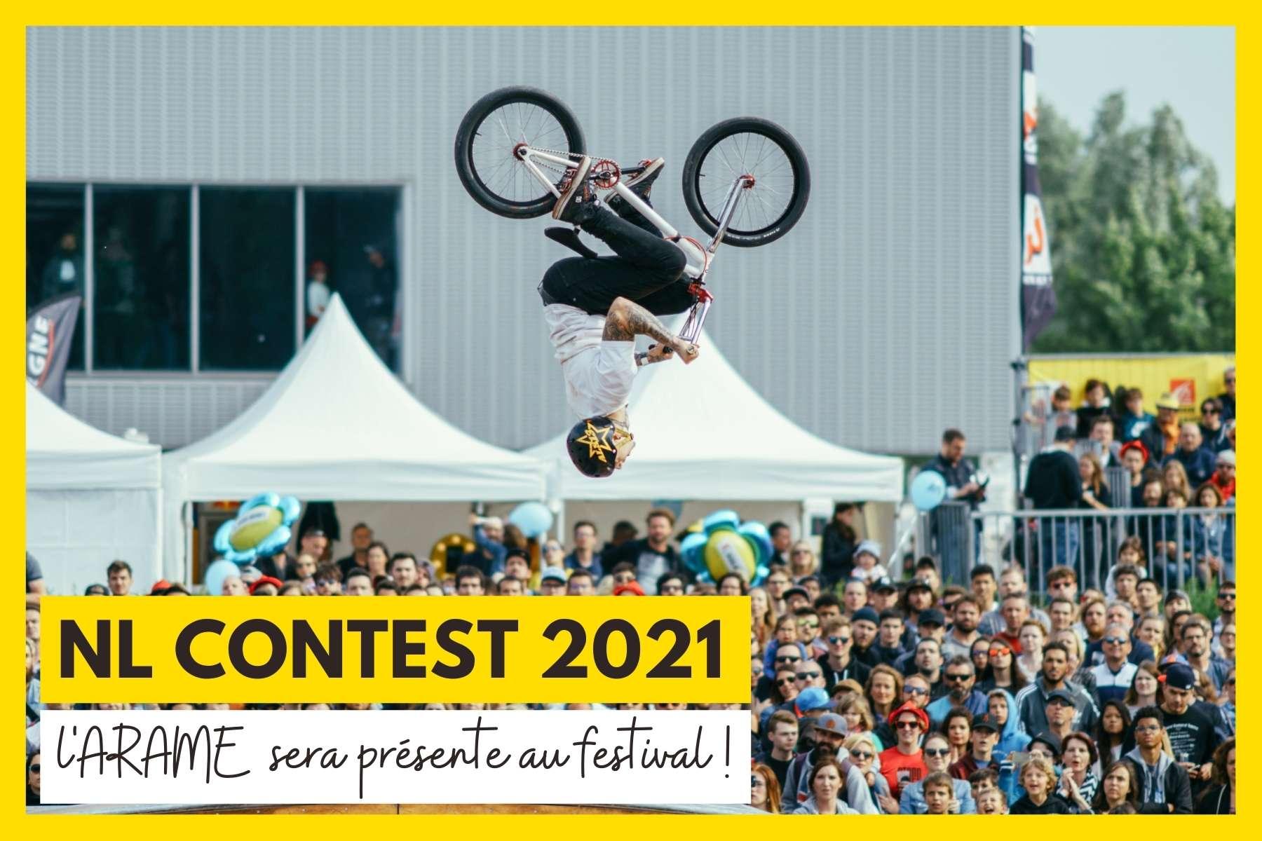 L'ARAME aura son stand au festival NL Contest 2021