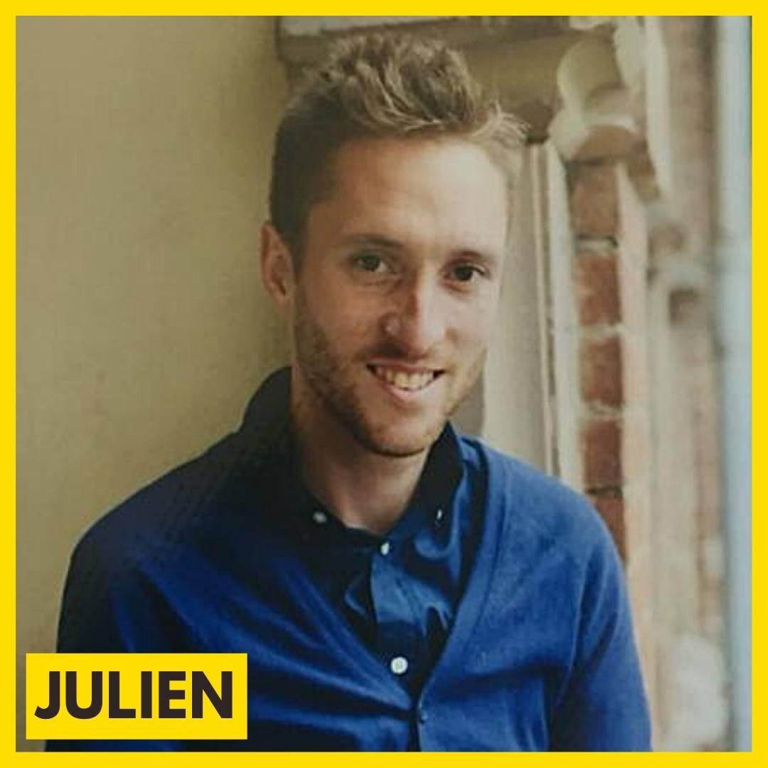 Julien Baston est bénévole pour l'association ARAME