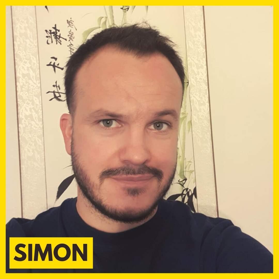 Simon Offner est bénévole pour l'association ARAME